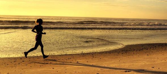 sport op het strand