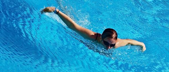 zwemmen - gezond en gewicht