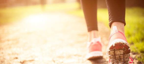 gezond afvallen en wandelen
